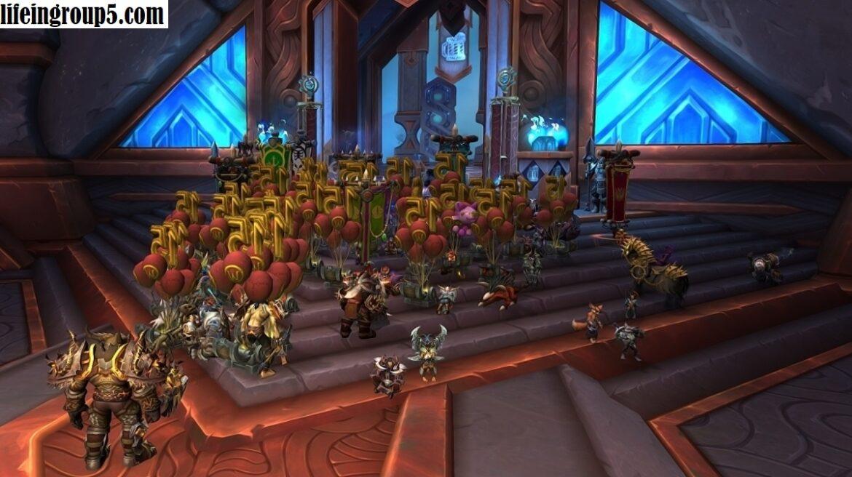 Pemain World Of Warcraft Melakukan Protes Dalam Game