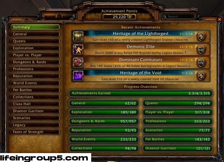 Achievements World of Warcraft Yang Sangat Sulit Dibuka